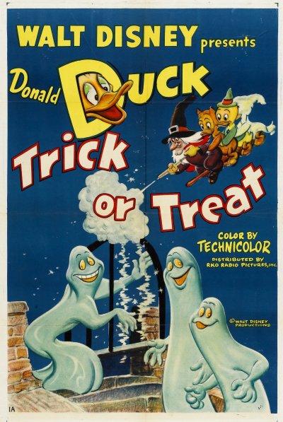 Donald et la Sorcière (Trick or Treat)