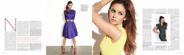 16 Aout 2012                                                   Scan et Photoshoop de Nina pour Ocean drive magazine