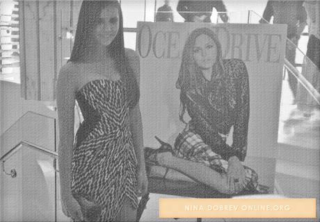 19 août 2012                                                              Nina dans le quartier Souch Beach de Miami en Floride.