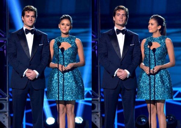 10 janvier 2013  18ème cérémonie annuelle des Critics Choice Movie Awards  en Californie.Nina était présente