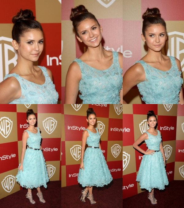 Nouveau photo de la saison 4 + scan de Nina pour Femina + 13 janvier 2013 Nina était présente 14ème soirée annuelle de Warner Bros et InStyle Golden Globe Awards After Party