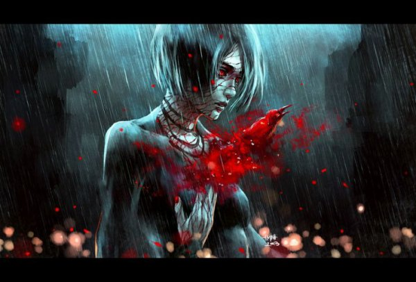 Kizuna  -De l'encre dans mes larmes-