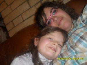 Ma cousine Maïlys et moi