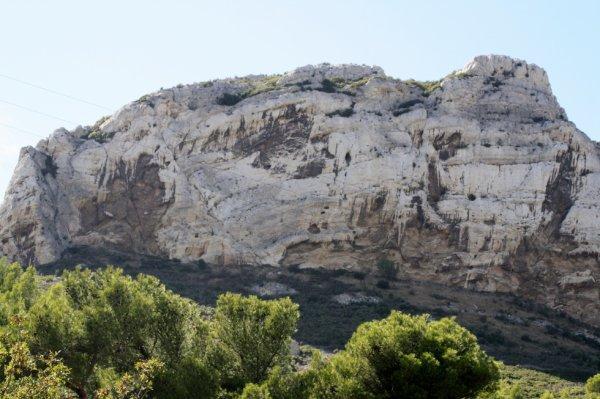 un rocher à la vesse