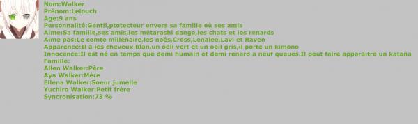 Présentation de Ellena,Lelouch et Yuchiro #AyaXAllen
