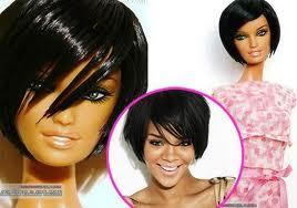 la barbie Rihanna.