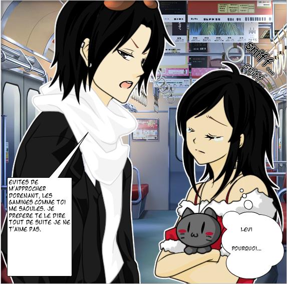 Mini manga ( avec beaucoup d'incohérences ) !