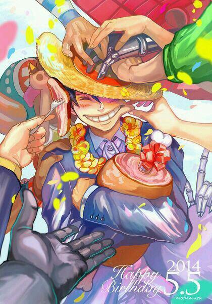 Happy Birthday Luffy *^* !