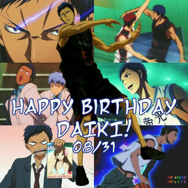 Happy birthday Aomine Daiki ♡♡♡♡ !