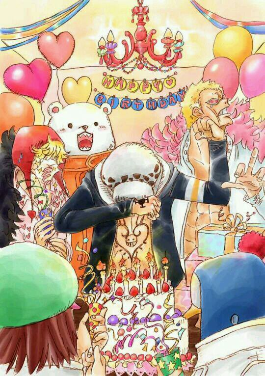 Happy Birthday Law-sama ♡♡♡♡ !!!!