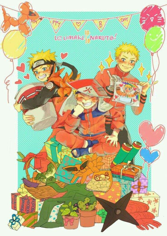 Happy Birthday Naruto  ♡♡♡♡!!!!!