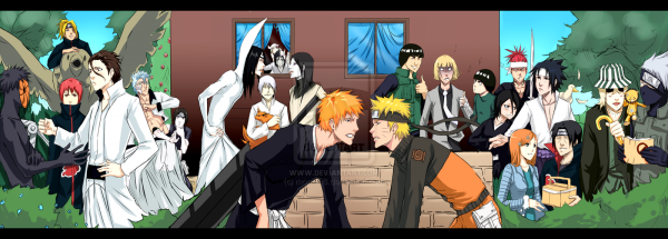 Pockie Ninja - naruto vs bleach