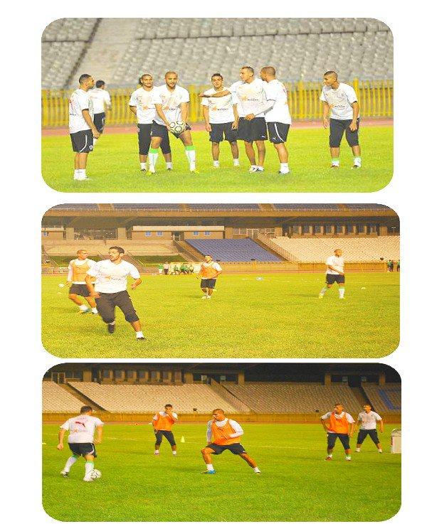 Préparation avant match :  Algérie -  Tanzanie
