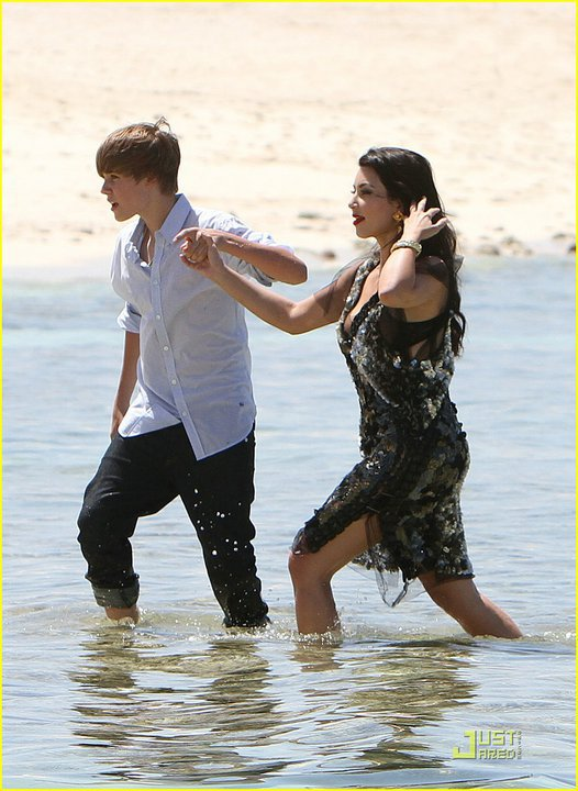 Justin & Kim au Bahamas
