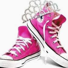 chaussur rose !!!