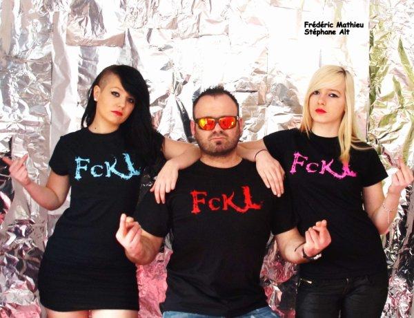 Shoot réalisé par Frédéric Mathieu pour la marque FCKL