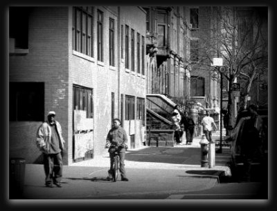 Harlem, l'ancien Ghetto.