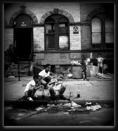 Suite Harlem, ancien Ghetto.