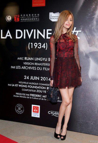 """Incroyable découverte... La version remasterisée du film """"La Divine"""" à voir absolument, j'ai adoré !! A très vite. Z - Zahia via Twitter !"""