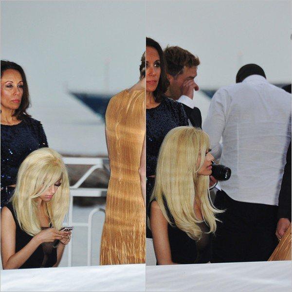 Zahia lors du Amber Lounge Fashion Show au Meridien Beach Plaza à Monaco le 25 mai 2012.
