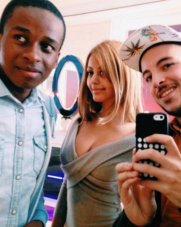 Petite photo avec Mehdi et Badrou !