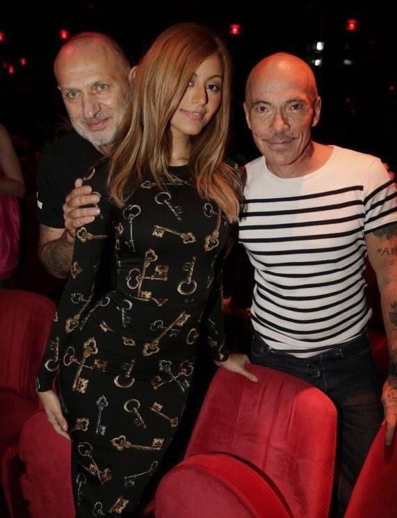 Avec Pierre & Gilles #CrazyHorse
