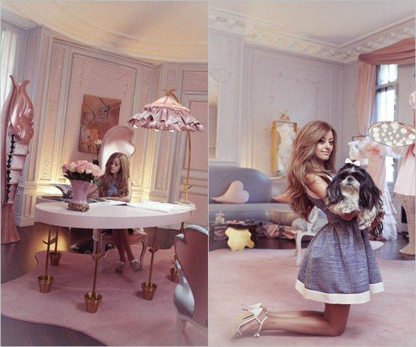 Zahia divine dans le magazine Paris Match.