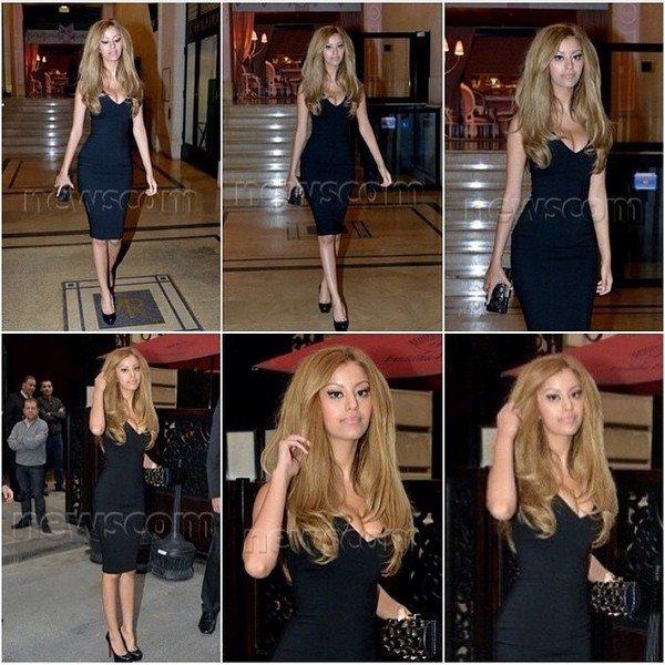 Zahia a la soirée d'ouverture du Zahia Pop-Up store à Paris, le 04 juillet 2013.
