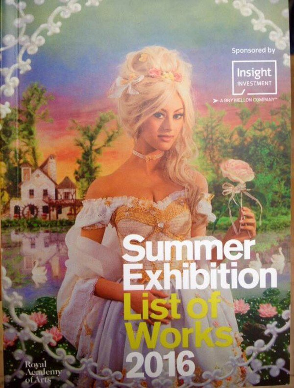 C/ Pierre & Gilles • Zahia en Marie-Antoinette - Royal Academy of Arts - Summer exhibition / 13 juin - 21 août