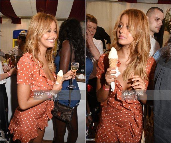 """Zahia à l'ouverture de """"La Fete Des Tuilleries"""" à Minin Dress à Paris, le 23 juin dernier !"""