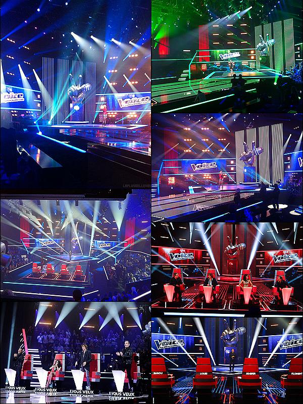 Découvrez les premiéres images du plateau de The Voice!
