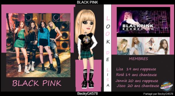 Artbook Spécial BLACK PINK