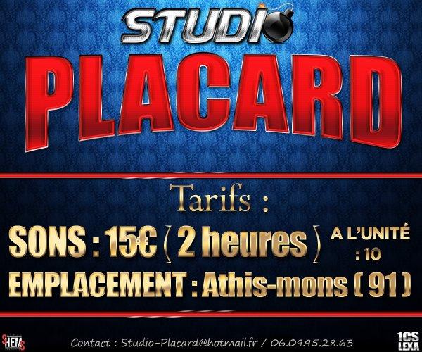Studio Placard