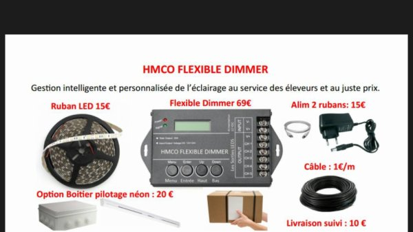 Dimmer Hmco 100% Confiance.