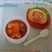 Bento à la soupe de farfalle aux légumes