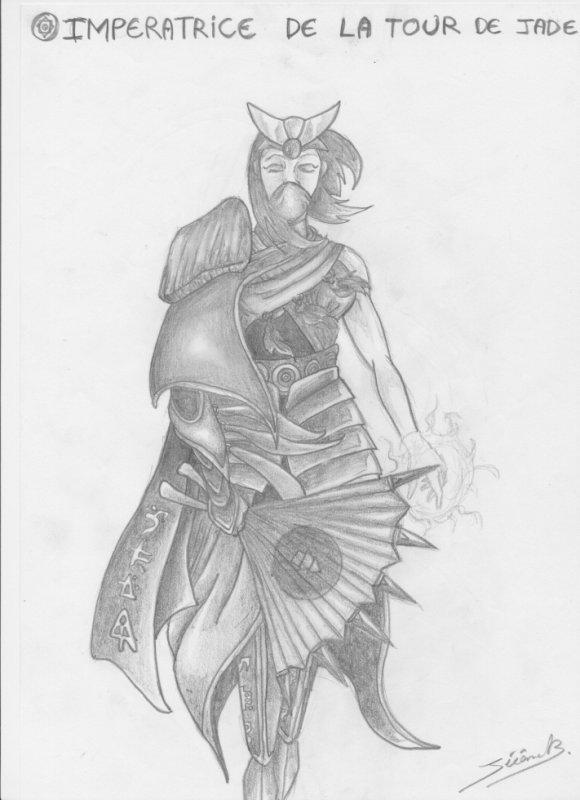 imperatrice de la tour de jade