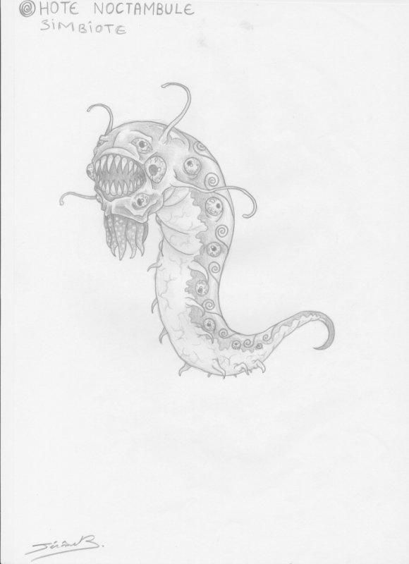 symbiote (hôte noctambule)