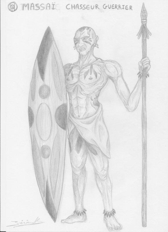 massai (chasseur guerrier)
