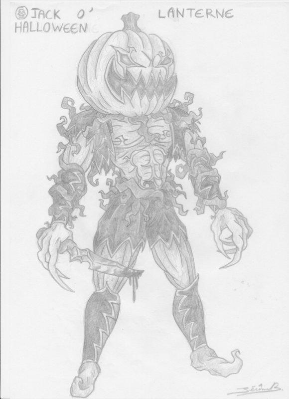 jack o'lanterne (Halloween)