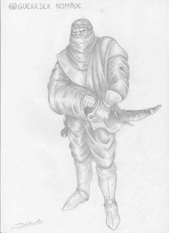 guerrier nomade