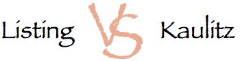 Listing vs Kaulitz