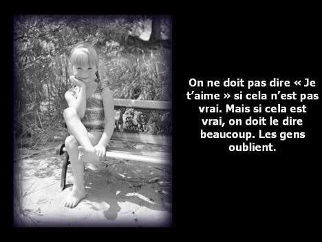 PAROLES D'ENFANT.... !!!!