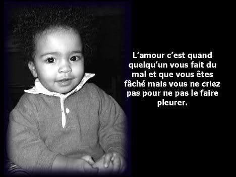 PAROLES D'ENFANT...C TRES MIGNON ET TELLEMT VRAI....!!!