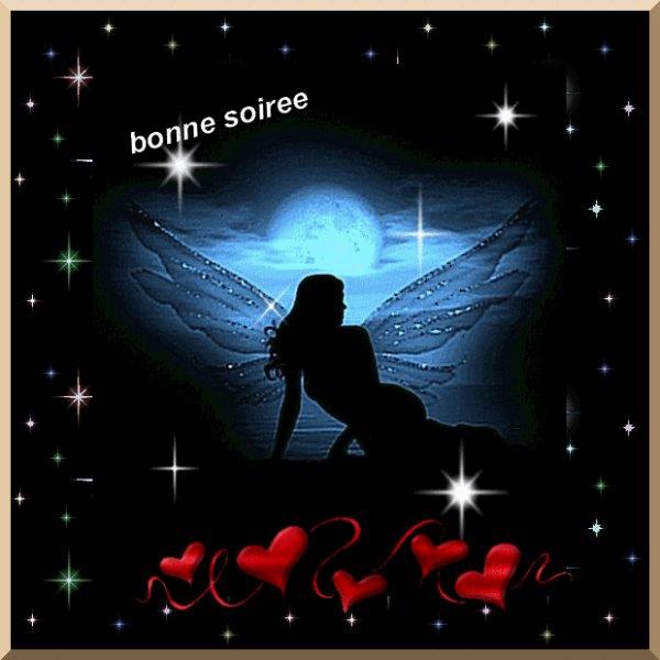 BONNE SOIREE A VOUS TOUS ET TOUTES ! BISOUSSSS.... !!!!