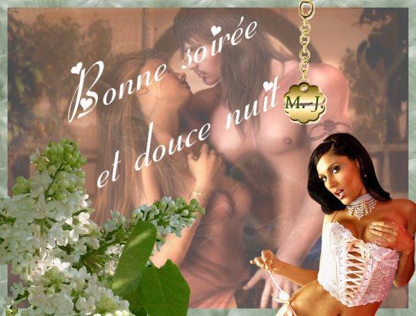 BONNE FIN DE SOIREE ET DOUCE NUIT A VOUS TOUS ET TOUTES....!!!! BISOUSS....!!!!