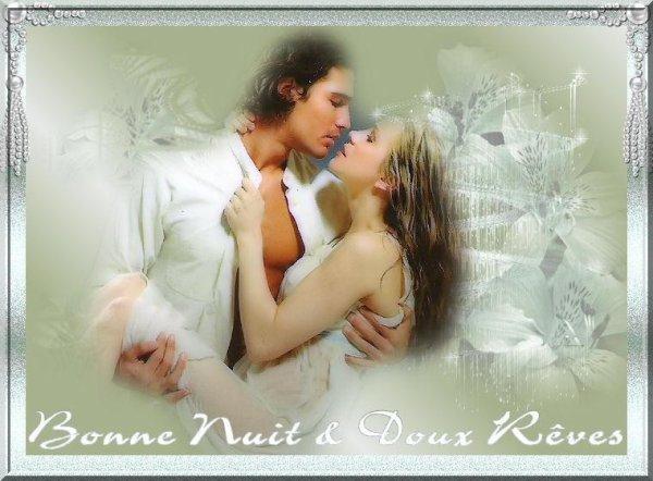 BONNE FIN DE SOIREE ET DOUCE NUIT A VOUS TOUS ET TOUTES...!!! BISOUSSS... !!!