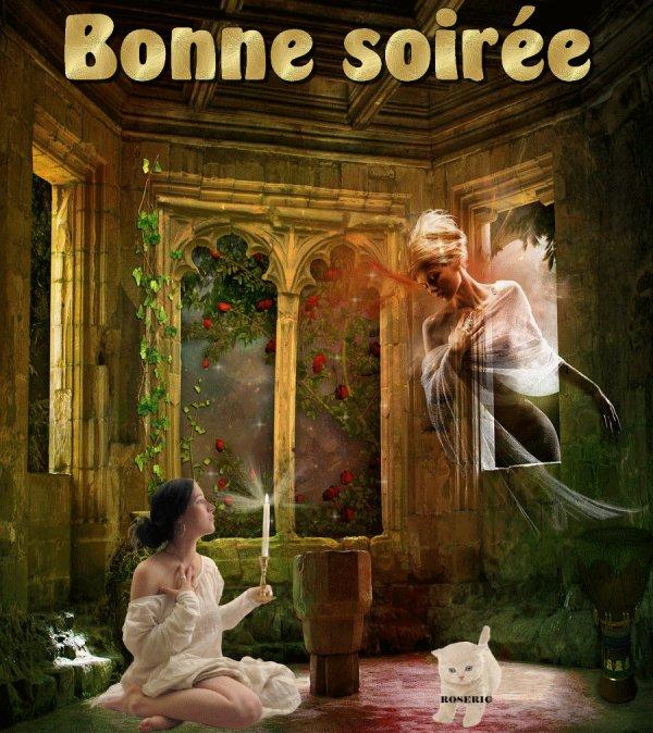 BONNE SOIREE ET DOUCE NUIT A VOUS TOUS ET TOUTES....BISOUSSS.... !!!!