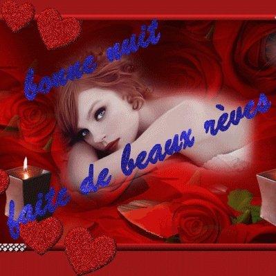 BONNE NUIT A VOUS TOUS ET TOUTES....PLEINE DE DOUX REVES....BISOUSS....!!!