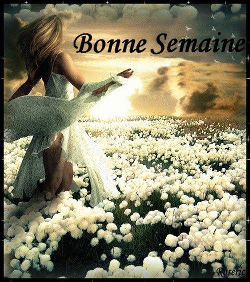 BONNE SEMAINE A VOUS TOUS ET TOUTES....TJS AVEC LE SOLEIL J'ESPERE!!! BISOUSS....