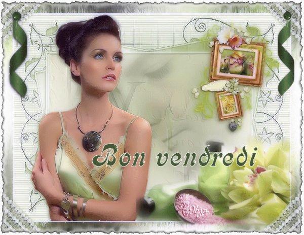BONNE NUIT ET BON VENDREDI A VOUS TOUS ET TOUTES...BONNE FIN DE SEMAINE...! BISOUSS.... !!!